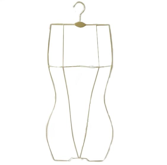 Alibaba.com / Assessed Supplier PENGFEI display metal body shape swimwear hanger