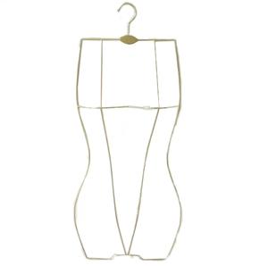 Assessed Supplier PENGFEI display metal body shape swimwear hanger