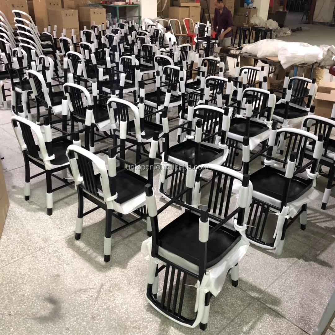 product-Uptop Furnishings-Sample design wood seat metal frame chair-img-4