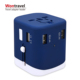 Best selling items promotional customized universal travel adapter with company logo corporate gifts