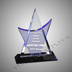 Crystal New Custom High Quality And Cheap Price Colored Crystal Award Trophy -cca099