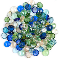 wholesale Bulk Round Decorative Crystal Fire Glass Crystals Beads For Vase Filler Fire Pit