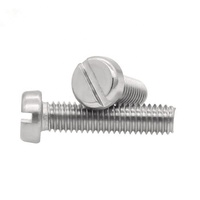 DIN 84 SS 304 316 A2-70 Slotted cheese head machine screws