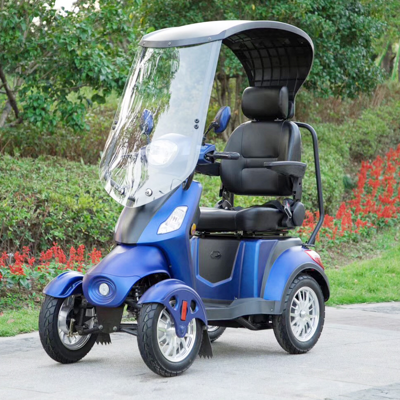 EEC Approved electric mobility scooter 4-wheel elderly
