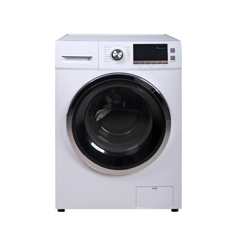 Machine à laver et à laver, sèche-linge à chargement frontal automatique de 12kg