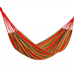 Heißer verkauf outdoor-camping einzigen person tragbare hängen bett hängematte