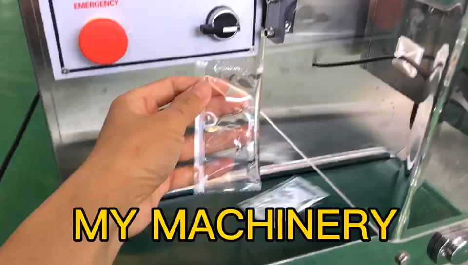 Desinfetante para as mãos automático pequena máquina de embalagem sachê
