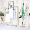 Hot Selling Good Price Steel Clothes Display Racks Wedding Dress Display Stand from China