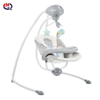 Baby vibrating chair newborn musical rocking chair electric recliner cradling baby swing cradle with remote control