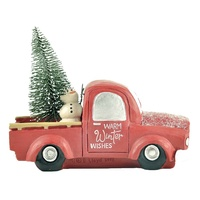 Cost-effective warm winter wishes truck Christmas tree Xmas ornaments