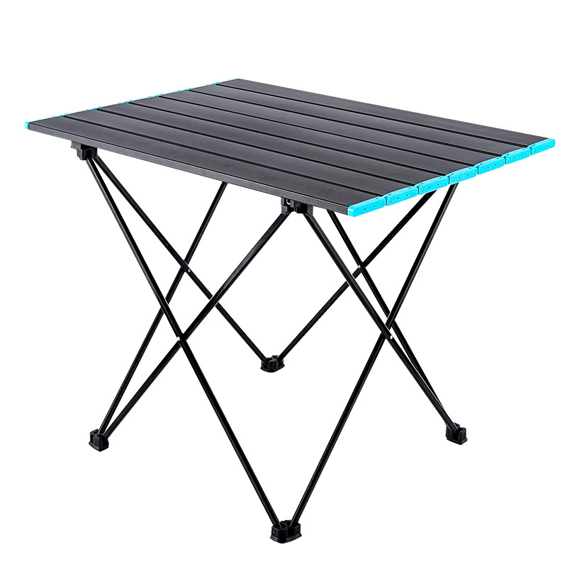 Middle Size Camping Picnic Tables Portable Compact Lightweight Folding Roll-up Table in a Bag Small, Light, and Easy to Carry