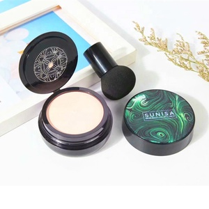 OEM Sunisa 20g Natural Concealer Moisturizing Compact Air Cushion Foundation