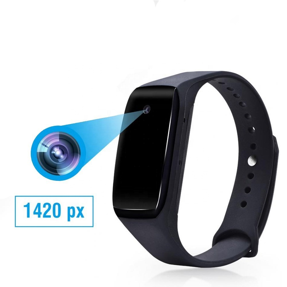 HD1080P smart bracelet <strong>mini</strong> <strong>camera</strong> 14.2 million pixels <strong>wifi</strong> hidden wristband smart band micro cam