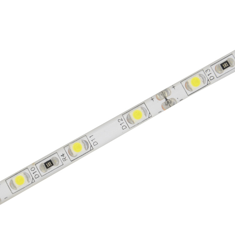 Top5 LED strip manufacture SMD3528 60led/m 4.8W/M 12V 5mm Wide Indoor Outdoor Flexible LED Strip Light