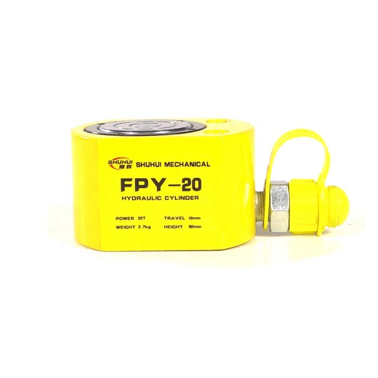 FPY tipo super fina preço macaco hidráulico 5 mil toneladas para 150 toneladas