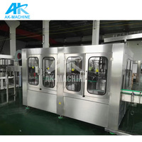 Water Filling Production Line Automatic / Beverage Bottled Filling And Sealing Machine / Pure Water Filling Plant Cost