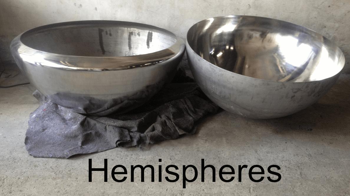 Stainless Steel Half Hemispheres Pricing