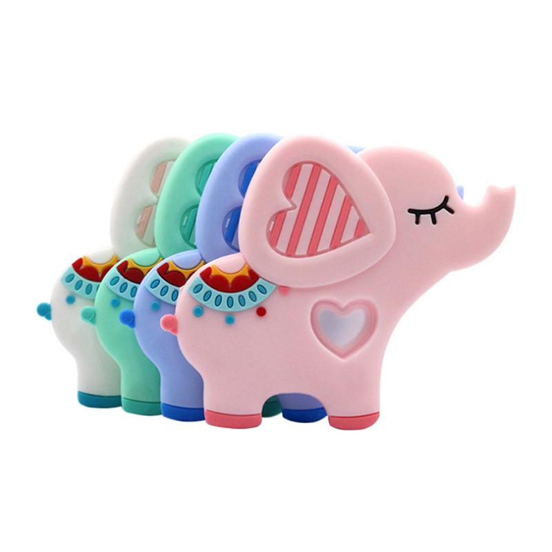 elephant baby teether 09