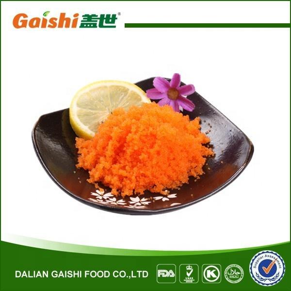 Sushi seasoned capelin roe masago
