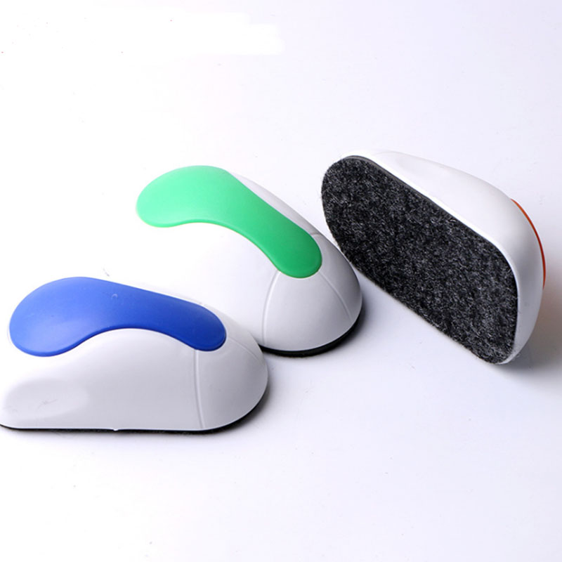 Cheap Price New Design Mouse Shaped Dry Erase Magnetic Lapboard Whiteboard Eraser