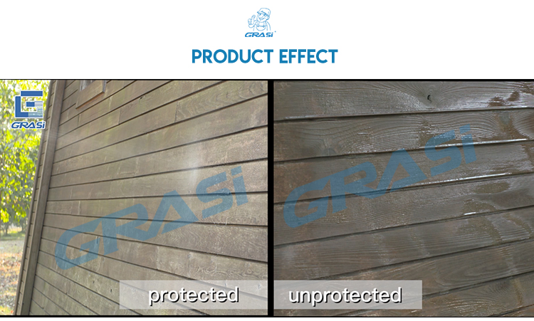 High performance organic silicon general waterproofing penetrant wood preserver