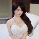 Dd Korean Style 165cm Silicone Realistic Full Size TPE Metal Skeleton Sex Doll