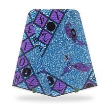 Новая восковая ткань 100% хлопок оригинальная восковая ткань 2020 африканская ткань с принтом для свадебного платья африканская ткань(China)