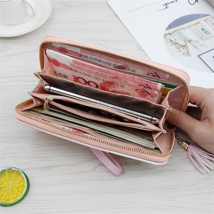 China factory hot sale fashion women wallets leather women purse ladies 2020