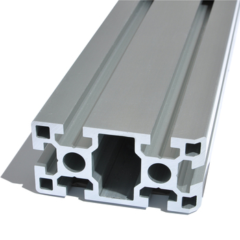 T slot snap frame aluminium profile v shape bracket with black anodized aluminum