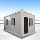 Real Estate Container House Design Flat Pack Prefab Flat Container Construction Real Estate House