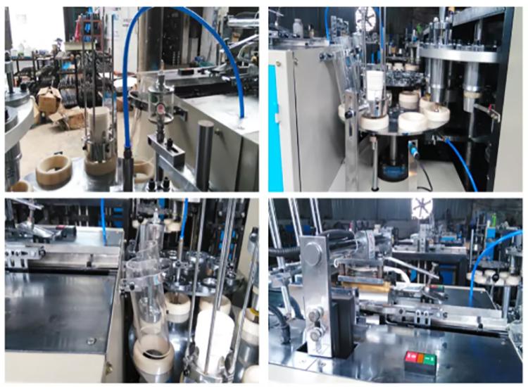 TIANYUE MARCA Impianto di Produzione Completamente Automatica Tazza di Carta Che Fa La Macchina