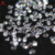 Redleaf gems  cz stone  diamond cut 5A  roundshape loose gemstone  white synthetic cubic zirconia