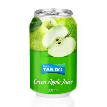 Hot Selling <span class=keywords><strong>Apple</strong></span> Juice Pack In Kan 250 Ml; 330 Ml; 500 Ml Fabriek Uit Vietnam