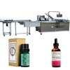 JB-120WZ Automatic e-liquid cartoning machine, essential oil carton packing machine for 15ml 30ml