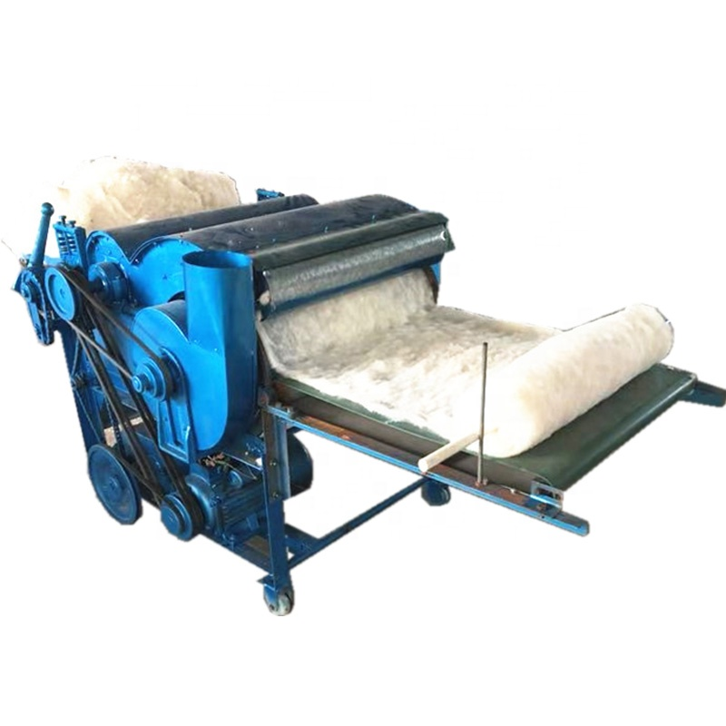 Easy Operation Textile Opener Cotton Fiber Opening Machine Waste Cotton Yarn Recycling Machine