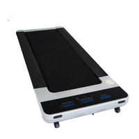 Under Desk Smart Slim Fitness Gym Electric Commerical Motorised Trademill Mini Walking Pad Treadmill For Home/ Office