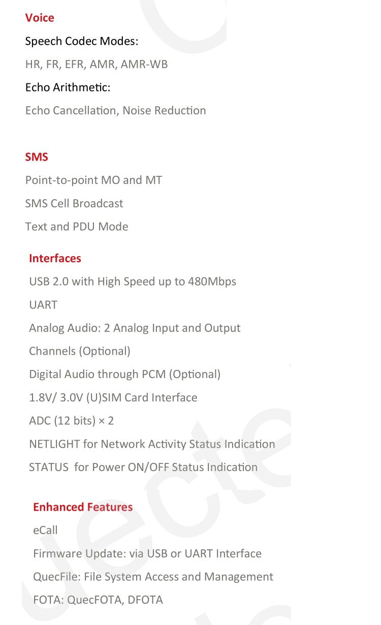फैक्टरी मूल्य UMTS/HSDPA UC15-EC मॉड्यूल कम लागत 3 जी जीएसएम मॉड्यूल