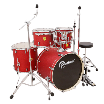 Low cost acoustic drum set professional drum kit