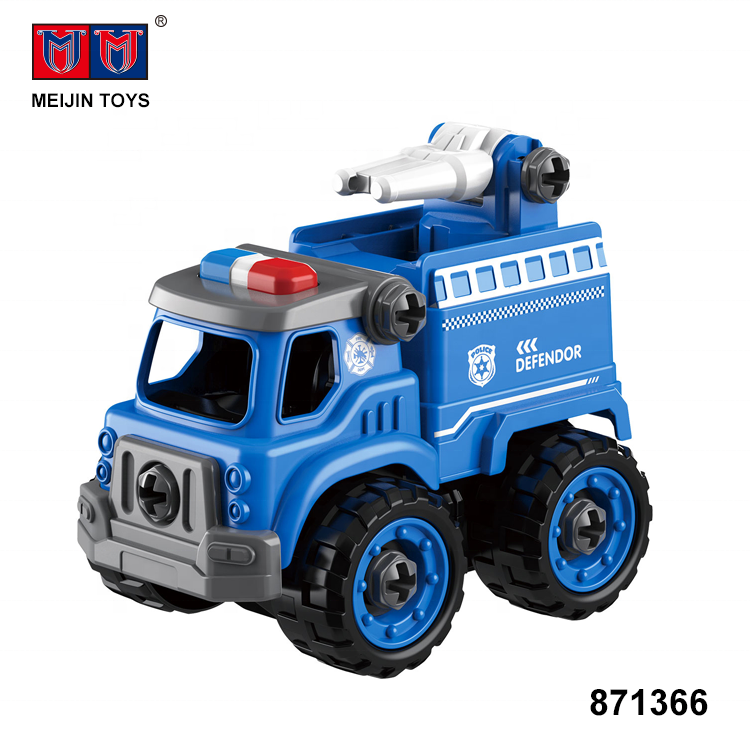 children diy truck toys 26PCS assembly model car