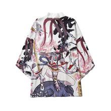 Bebovizi, летнее традиционное кимоно самурая, одежда японского аниме, кардиган для костюмированной вечеринки, для мужчин и женщин, юката, женска...(Китай)