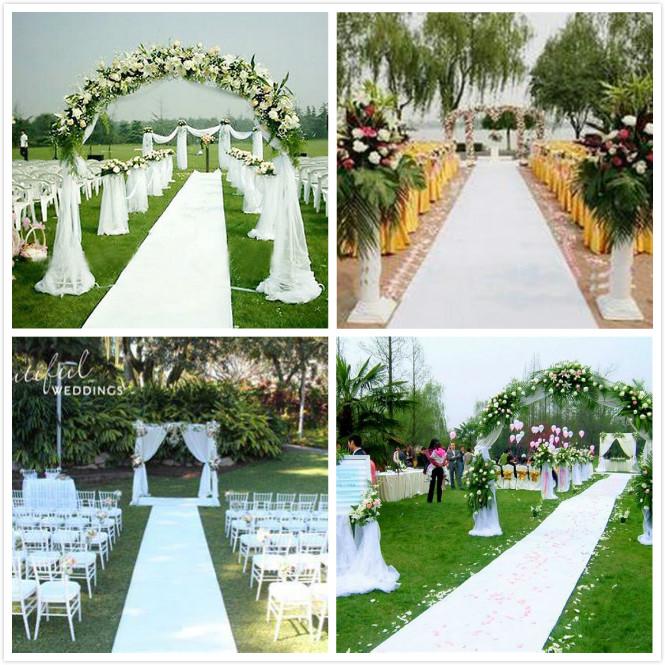 Hall Floor Mirror Rug Roll Wedding Walkway Stage