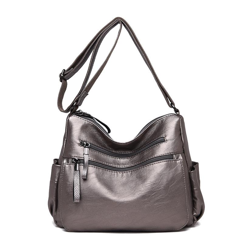 Новинка 2020, модная сумка, женские роскошные сумки из натуральной кожи, женские сумки, дизайнерская женская сумка через плечо, кошелек, Bolso Mujer...(Китай)
