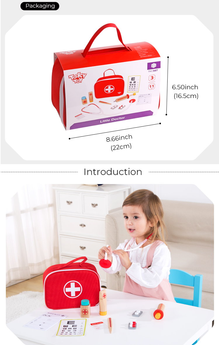 Hot sale new design doctor toy set