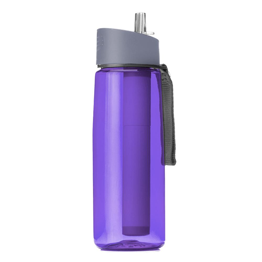 650 мл фильтр для воды бутылки Бутылка с фильтром для воды очиститель для отдыха, туризма, путешествий(Китай)