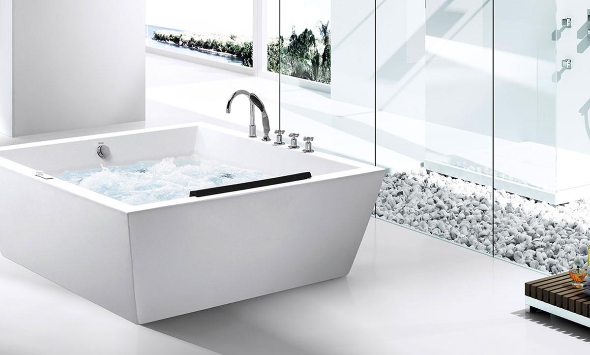 Foshan Hanse Sanitary Ware Co Ltd Massage Bathtub