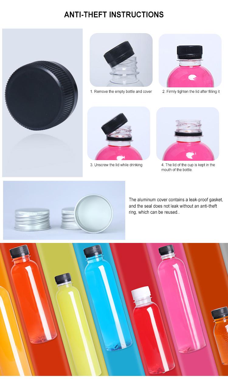 Xangai 500 ml 16 Oz Atacado pet de plástico garrafas de água