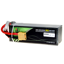 Lipo akku 3s 11,1 v 4s 14,8 v 6s 22,2 v 5000mah 5200 6000mah für rc drone <span class=keywords><strong>batterie</strong></span>