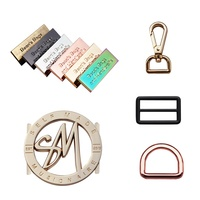 Bag Accessories Hardware Engraved Metal Brand Logo Plate Tags,Metal Logo Labels for Handbags
