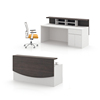 Reception Counter Table Modern Front Office Reception Desk