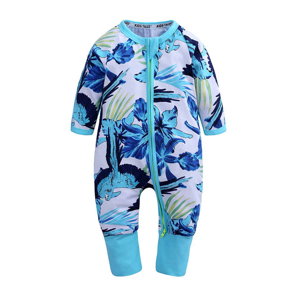 Top Selling Wholesale Purified Cotton Long Sleeve Jumpsuit Baby Romper